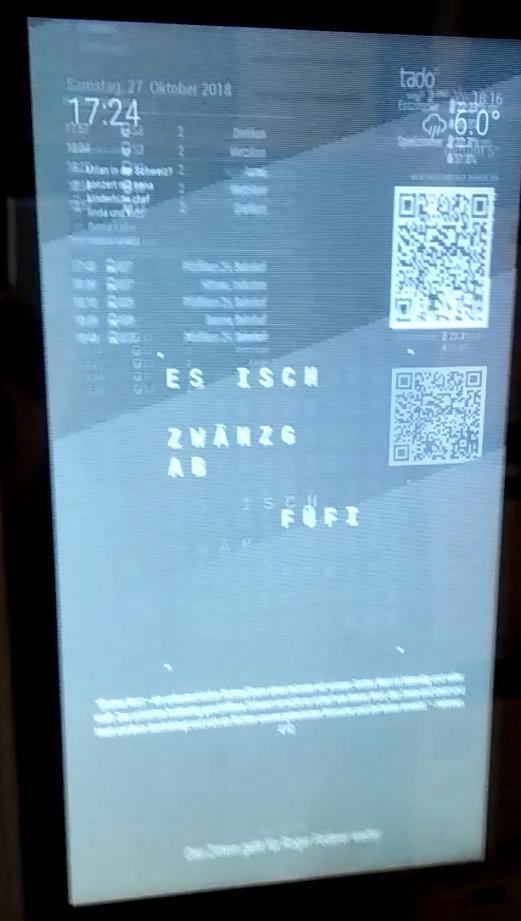 Flickering display in vertical mode MM2 5 0 (Pi3ModelB
