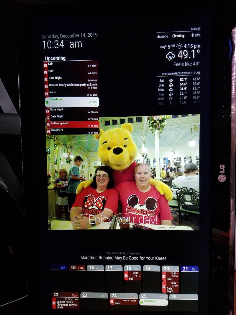 First Try Magicmirror Forum
