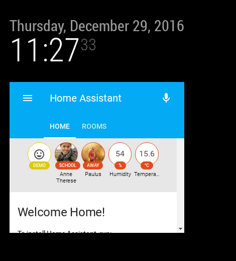 Home Assistant Module | MagicMirror Forum